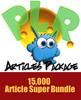 Thumbnail PLR Articles Super Bundle - Webmaster Package