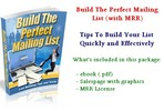 Thumbnail Build The Perfect Mailing List - with MRR