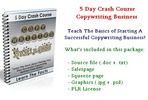 Thumbnail 5 Day Crash Course - Copywriting Business - With PLR