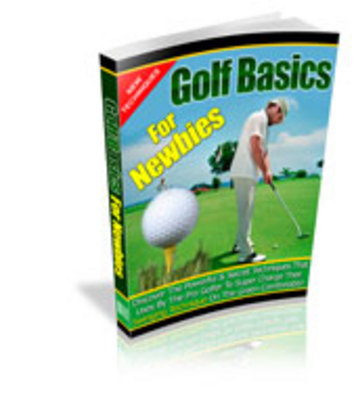 Product picture Golf Basics For Newbies - Webmaster package