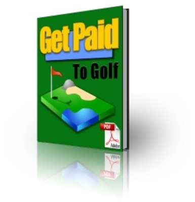 Product picture Get Paid To Golf - Webmaster package