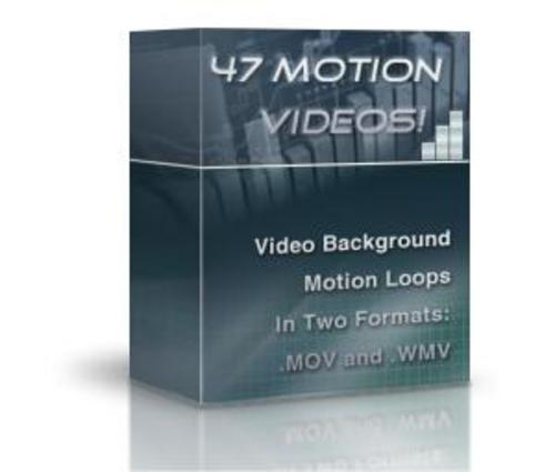 Product picture Motion Video Background Loops - With PLR