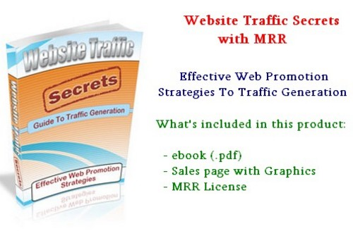 Product picture Website Traffic Secrets - with MRR