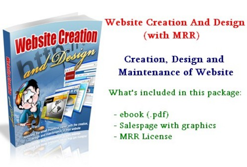 Product picture Website Creation And Design - with MRR