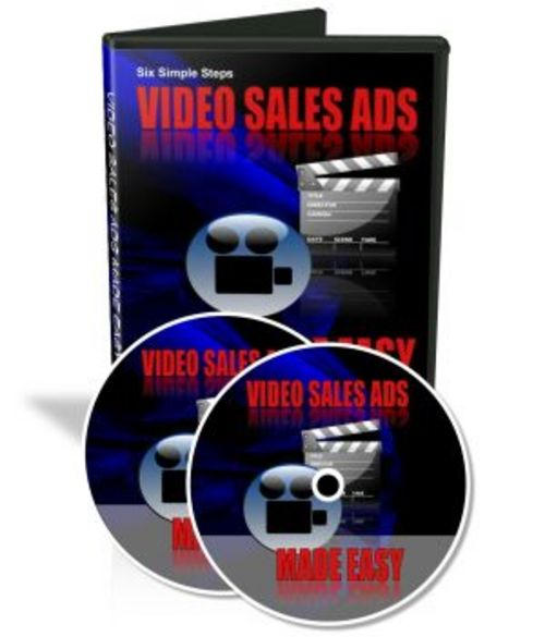 Product picture Video Sales Ads Made Easy - with MRR