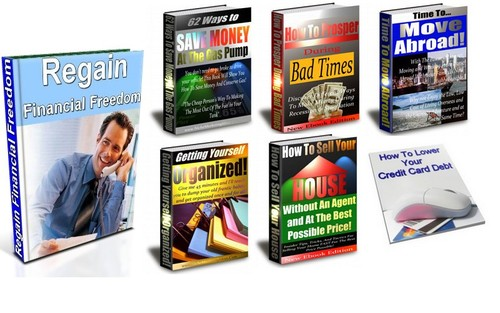 Product picture Regain Your Financial Freedom Package