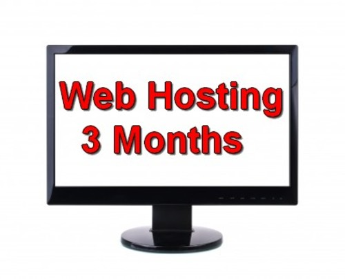Product picture 3 Months - Web Hosting package