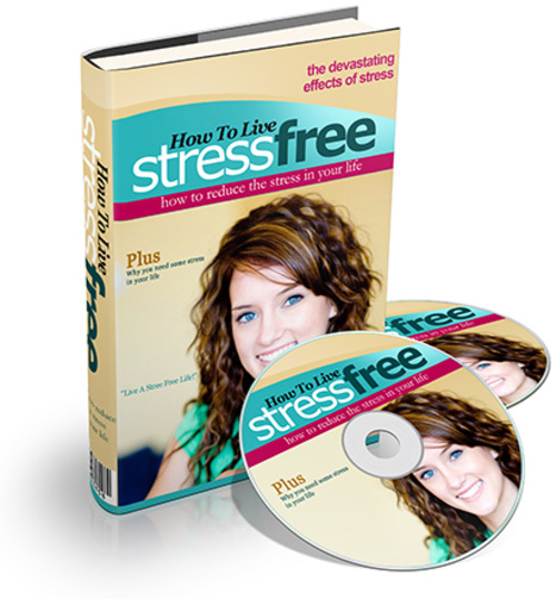 Product picture How To Live Stress Free - eBook + Audio